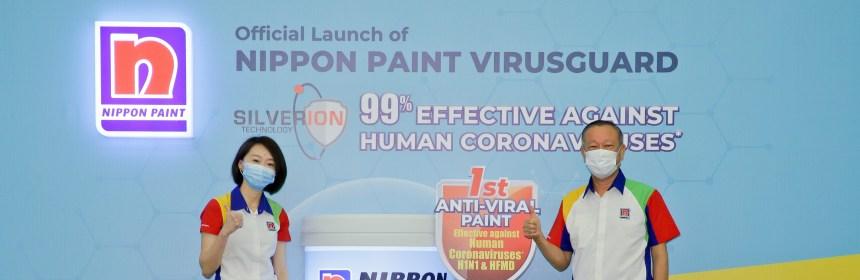 Launch of Nippon Paint VirusGuard