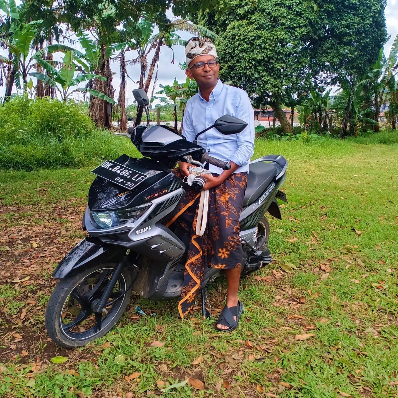Shan Ramdas in Bali, Indonesia.
